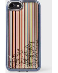 Paul Smith - 'Signature Stripe' iPhone 6/6S/7/8 Case - Lyst