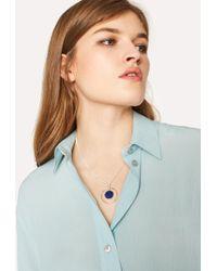 Paul Smith - Fluorescent Green Striped Cotton Shirt - Lyst