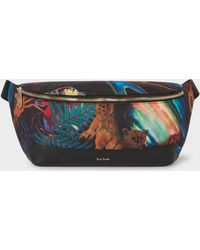 Paul Smith - Canvas 'Explorer' Print Bum Bag - Lyst