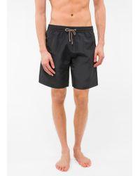 Paul Smith - Black 'Ice Lolly' Print Swim Shorts - Lyst