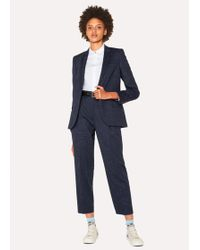 Paul Smith - Navy Flecked Slub Wool-Blend Suit - Lyst