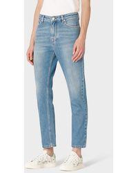Paul Smith Light-wash Girlfriend-fit Jeans