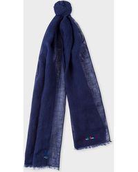 f0c01844f2c7 Men's Paul Smith Scarves and handkerchiefs - Lyst