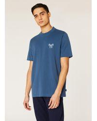 9a46118eb3e Paul Smith Mint Organic Cotton-Piqué Zebra Logo Polo Shirt in Green ...