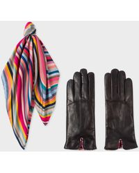 Paul Smith | Women's 'Swirl' Gloves And Scarf Box Set | Lyst