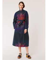 Paul Smith - Navy 'paul's Photo' Print Mac - Lyst