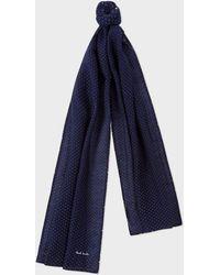 ba481348efa Lyst - Écharpe à imprimé Medusa Versace pour homme en coloris Bleu
