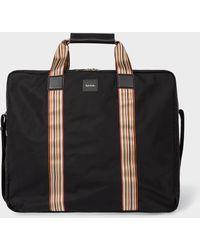 Paul Smith - Black Signature Stripe Suit Carrier - Lyst