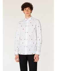 6959301604 Paul Smith Shirts - Men's Casual, Formal & Denim Shirts - Lyst