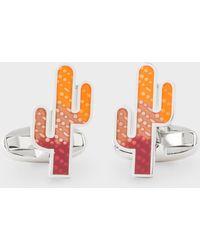 Paul Smith - Cactus Cufflinks - Lyst