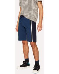 Paul Smith - Mixed-Stripe Print Swim Shorts - Lyst