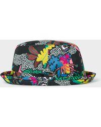 Paul Smith - 'psychedelic Rainforest' Print Bucket Hat - Lyst