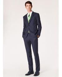 Paul Smith - The Soho - Tailored-fit Dark Navy Birdseye Wool Suit - Lyst