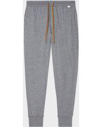 Paul Smith - Grey Jersey Cotton Lounge Pants - Lyst