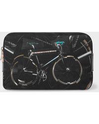 Paul Smith - 'Paul's Bike' Print Canvas Wash Bag - Lyst
