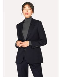 Paul Smith - A Suit To Travel In - Dark Navy Two-button Wool Blazer - Lyst