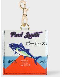 Paul Smith - 'Tuna' Print Leather Coin Purse - Lyst