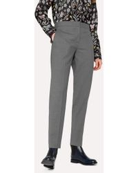 Paul Smith - A Suit To Travel In - Classic-Fit Grey Marl Wool Trousers - Lyst