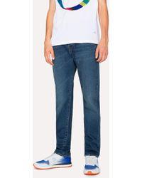 Paul Smith - Classic-Fit Dark Wash 12.5oz 'Rigid Western Twill' Jeans - Lyst