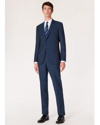 Paul Smith - The Mayfair - Classic-fit Navy Wool-mohair Suit - Lyst