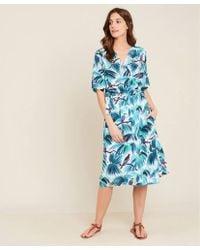 Hartford - Reva Bird Wrap Dress - Lyst