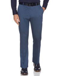 Perry Ellis - Men's Classic-fit Chambray Pants - Lyst