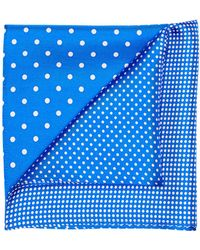 Perry Ellis - Four-sided Dot Pocket Square - Lyst