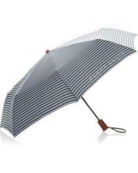 Perry Ellis | Stripe Compact Umbrella | Lyst