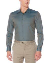 Perry Ellis - Iridescent Scale Jacquard Shirt - Lyst