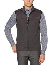 Perry Ellis - Textured Jacquard Vest - Lyst