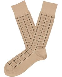 Perry Ellis - Scotland Microfiber Luxury Socks - Lyst
