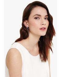 Phase Eight - Lena Link And Bar Drop Earrings - Lyst