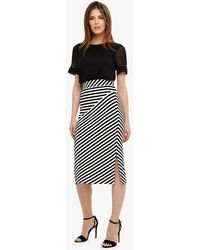 Phase Eight - Shadi Striped Skirt - Lyst