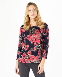 Phase Eight - Willow Print Top - Lyst