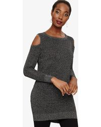 9053c43c9f277 Phase Eight Romana Shimmer Tunic in Black - Save 16% - Lyst