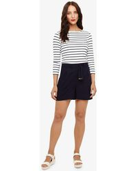 Phase Eight - Rylee Twill Short - Lyst