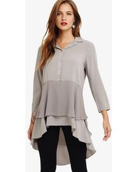 Phase Eight - Demelza Double Layer Blouse - Lyst
