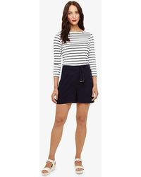 Phase Eight - Rylee Twill Shorts - Lyst