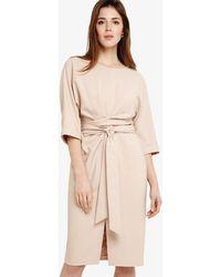 Phase Eight - Sophia Kimono Belted Dress - Lyst