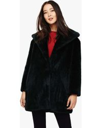 317a100f6a Phase Eight - Beckie Faux Fur Coat - Lyst