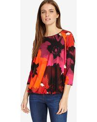Phase Eight - Multi-coloured Fleur Floral Blouson Top - Lyst