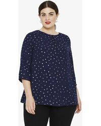 Phase Eight - Brooke Spot Top - Lyst