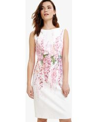 Phase Eight - Jessica Printed Floral Dress - Lyst