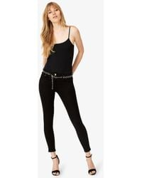 Phase Eight - Mika Belted 7/8 Jeans - Lyst