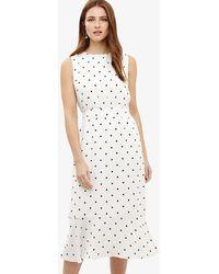 Phase Eight - Alison Spot Dress - Lyst