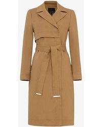 Phase Eight - Tayte Belted Trench Coat - Lyst