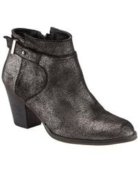 Phase Eight - Mimi Metallic Leather Ankle Boots - Lyst