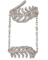 Phase Eight - Feather Chain Link Ring - Lyst