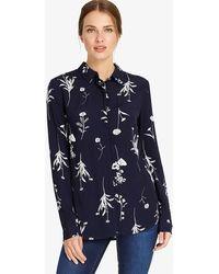 Phase Eight - Sarah Sprig Print Shirt - Lyst