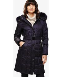 Phase Eight - Gretyl Illusion Panel Puffer Coat - Lyst